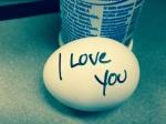 Lovely husband's magic egg!