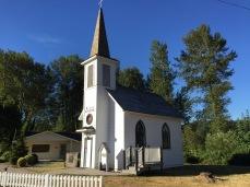A small historic church of Elbe WA.