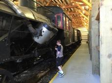 Oldschool train