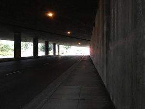 Lots of creepy underpasses around here.