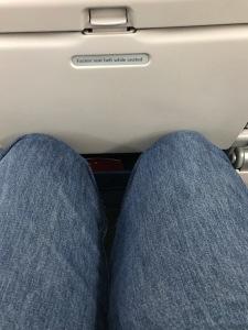 Yep, leg room is just an illusion.