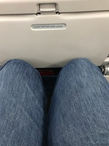 Yep, leg room is just an illusion.