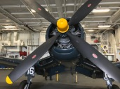 Midway Museum F4U-4 Corsair