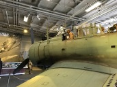 Midway Museum SBD Dauntless Front