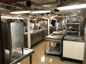 Midway Museum Ship Kitchen