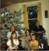 Xmas at Iron St. 1987